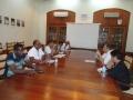 Visite_Séance de travail à la salle de conférence de la Direction Générale