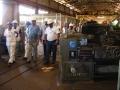 Visite à l'atelier machines-outils
